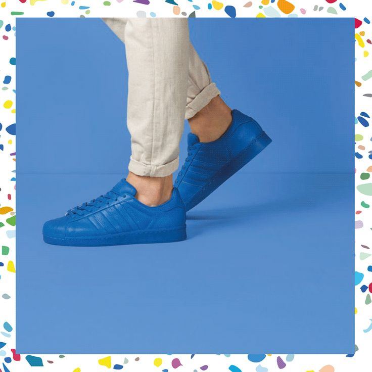 Colour me blue. #superstar #adicolor
