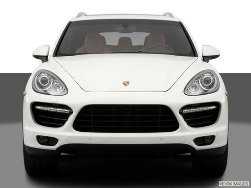 White Porsche Cayenne AWD 4dr Turbo SUV http://www.iseecars.com/used-cars/used-porsche-cayenne-for-sale