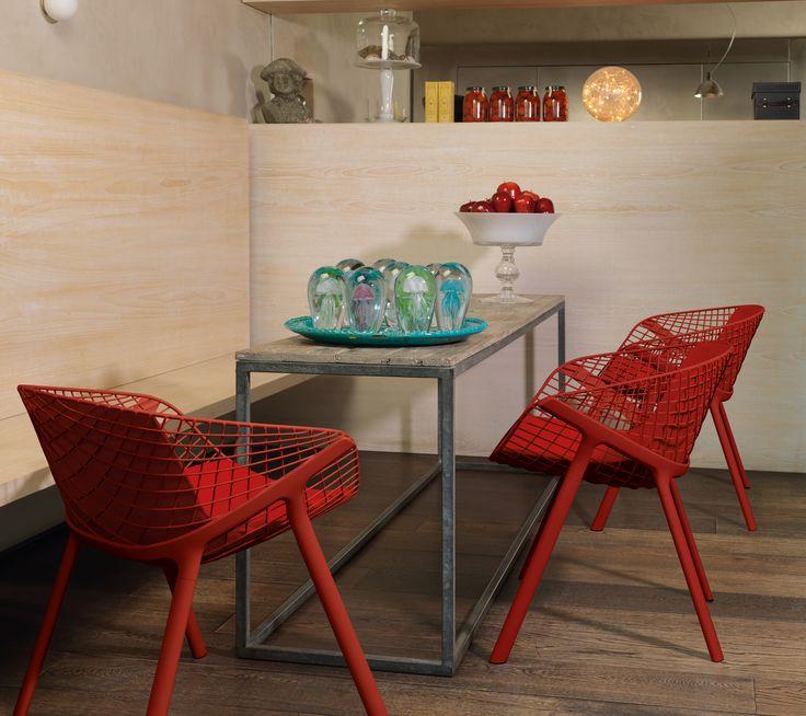 Side chair, Kobi chair, by Alias Design.