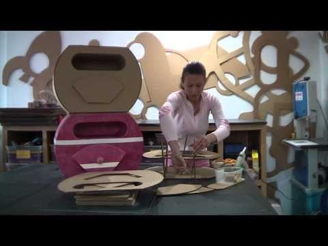 Tutoriel Meuble en Carton N°2 - YouTube