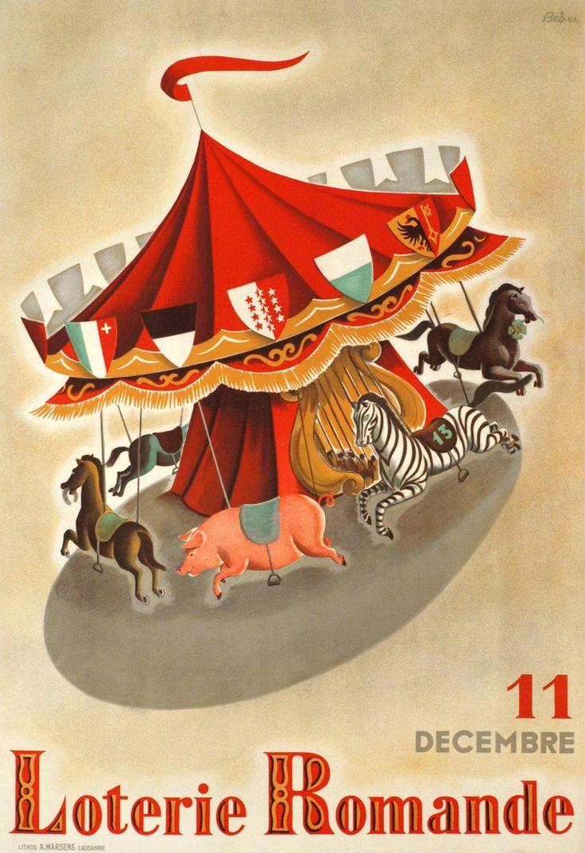 Loterie Romande, 11 décembre. BES (1943)