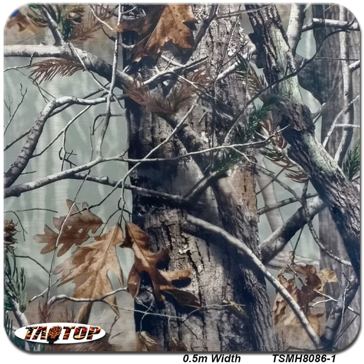 TSMH8086-1 10m*0.5m  Top Sell Pattern Camo Real Tree Leaves Hydro Graphic Water Transfer Printing Film #Affiliate