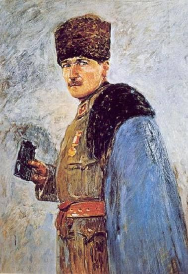 Nazmi Ziya Güran  Mustafa Kemal Atatürk | 1915