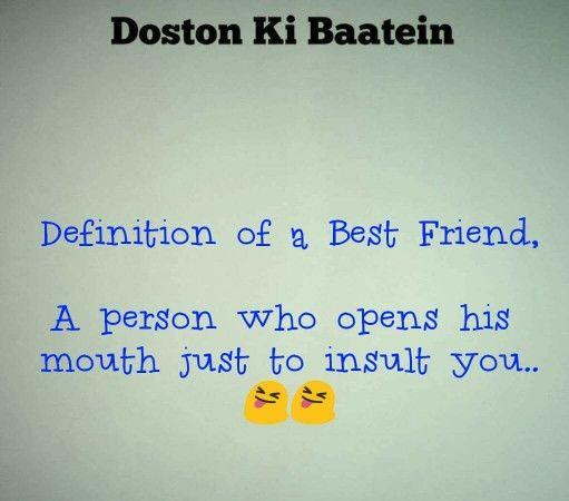 Hahaha .. True