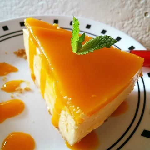 No-Bake Mango cheesecake recipe it's a delicious cheesecake recipe with mango puree and cream cheese .An appropriate dessert for guests or parties. I have used gelatine to set the mango laye…