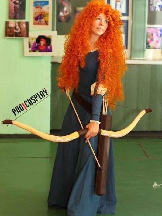 Brave Merida Disney Princess Cosplay Costume by PhoenixCardinal