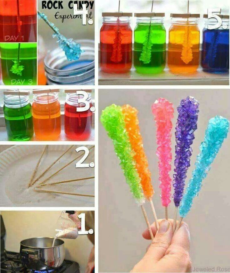 DIY ROCK CANDY...this looks so much fun to make with the kids!  http://www.growingajeweledrose.com/2015/02/rock-candy-experiment.html