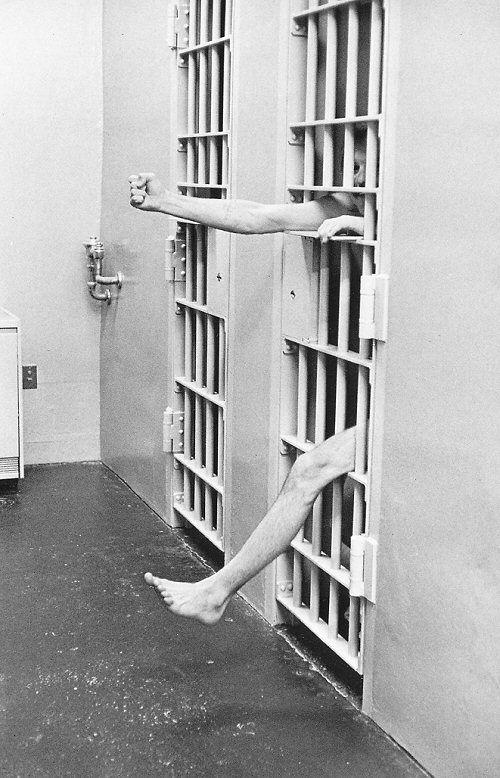 1975 - Cell in a Model Prison in the U.S.A - Henri Cartier-Bresson