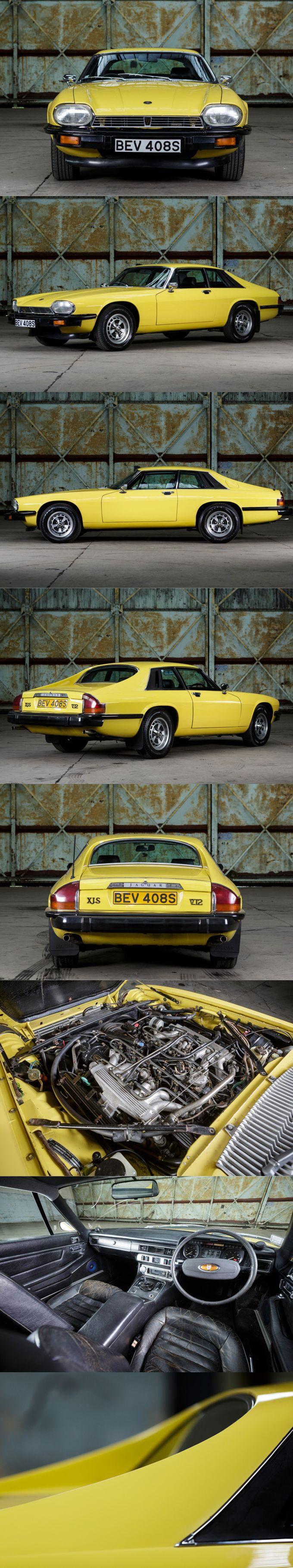 Jaguar driving gloves uk - 1977 Jaguar Xjs V12 Cotwold Yellow Pendine Co Uk