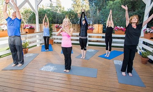 Home & Family - Tips & Products - Fountain of Youth Yoga with Sophie Uliano | Hallmark Channel