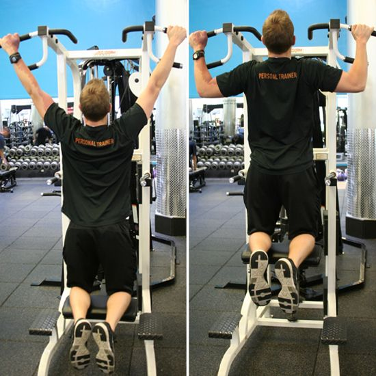 How to Use the Assisted Pull-Up Machine