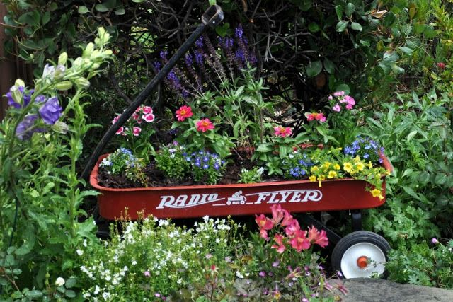 radio flyer wagon and the winners   Life on Lemon Lane
