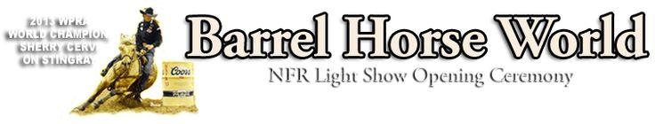 Barrel Racing at Barrel Horse World, Barrel Horses for Sale, Barrel Racing Forums, Equine Health Articles, Western Tack, and more