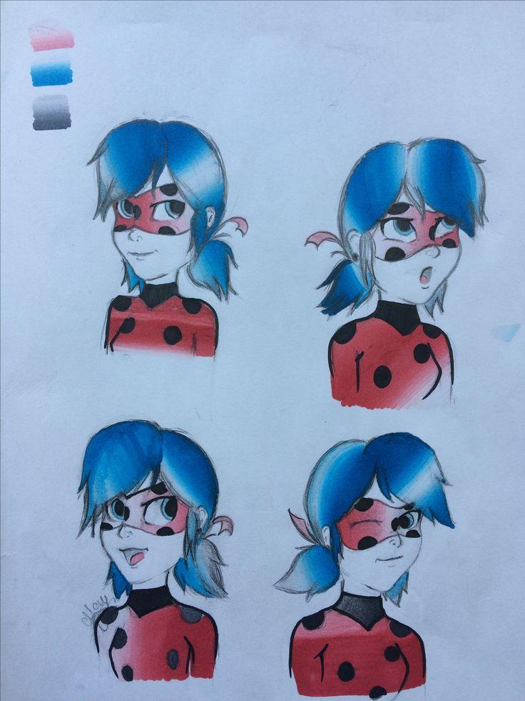 Ladybug moods