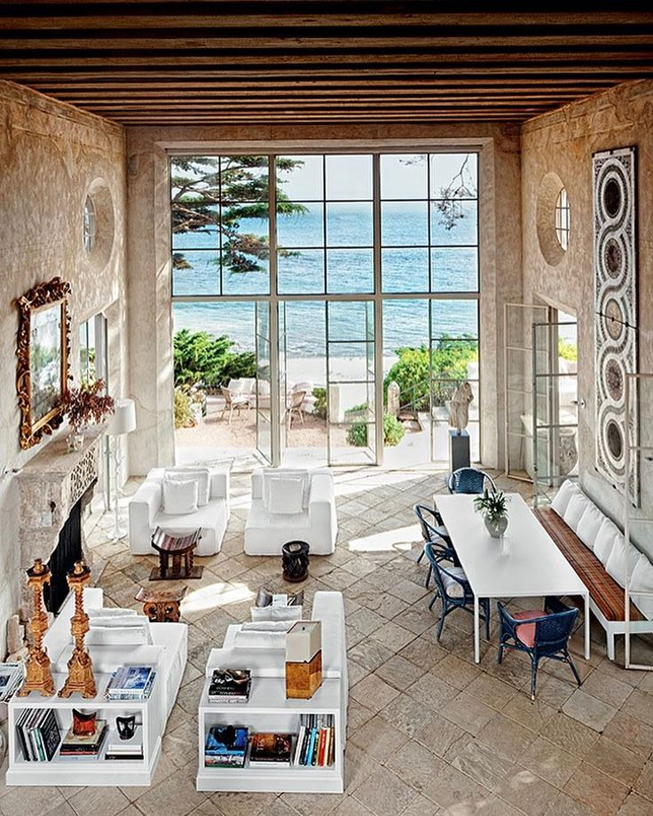 """581 Likes, 17 Comments - Richard Shapiro Studiolo (@richardshapirostudiolo) on Instagram: """"A view from the mezzanine out to the sea 