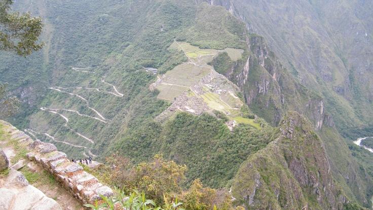 At Wainapichu, Perú