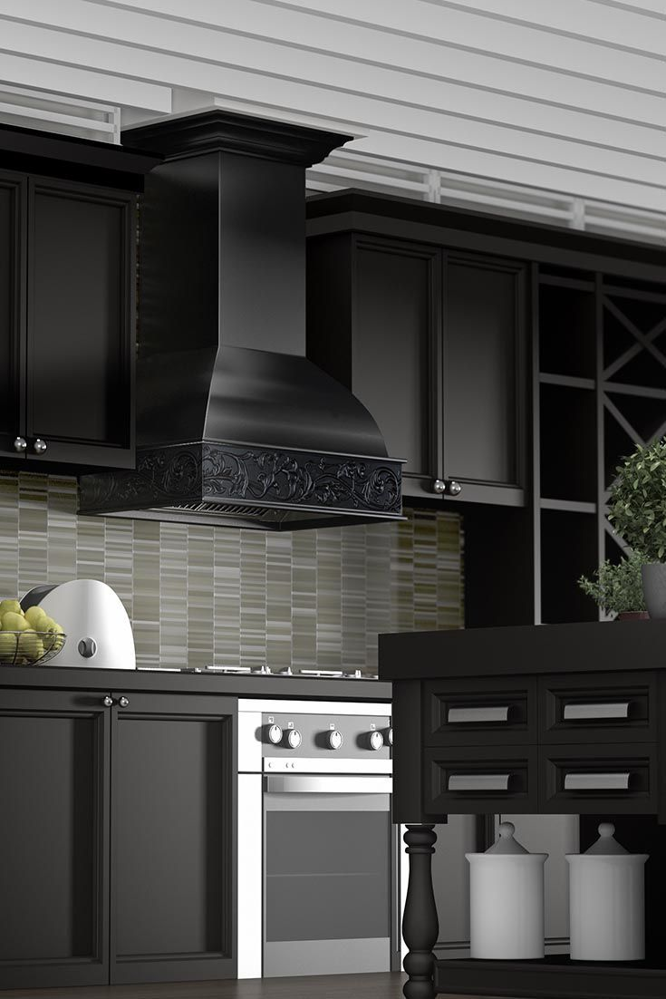 Remodel Your Kitchen With The ZLINE Kitchen 393AA Crafted Wall Mount Wood  Range Hood. It