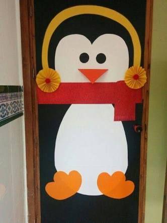 M s de 25 ideas incre bles sobre puertas decoradas para - Decoracion de navidad para puertas ...