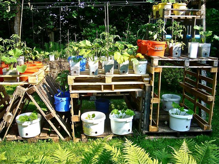 Garden Ideas Made From Pallets 114 best palety w ogrodzie images on pinterest | gardening, pallet