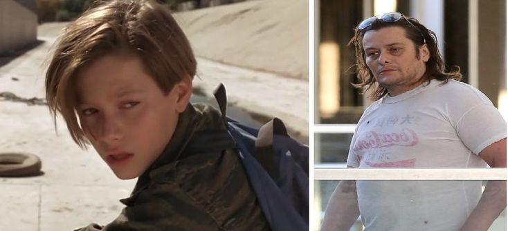 Edward Furlong - Lo vimos actuar en Terminator 2, pero su carrera declinó pues tiene problemas de consumo de sustancias tóxicas y problemas legales. Se enfrenta a 3 casos de maltrato a su ex novia.