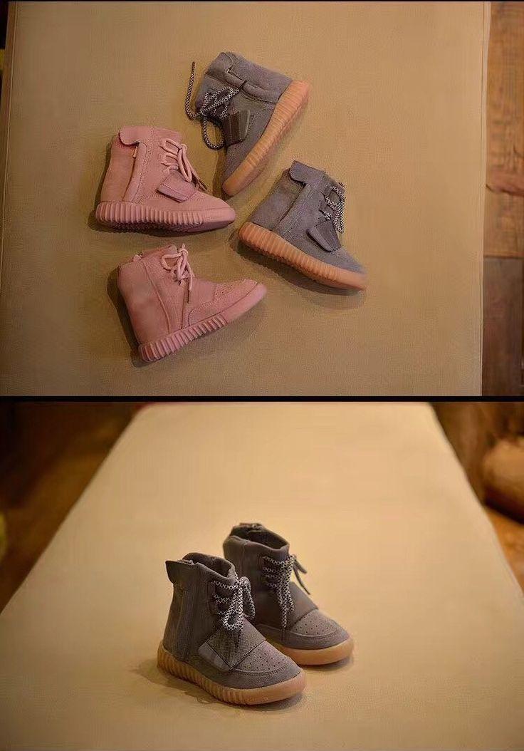 FFYK collection Grey high top Gum sole / Pink High top