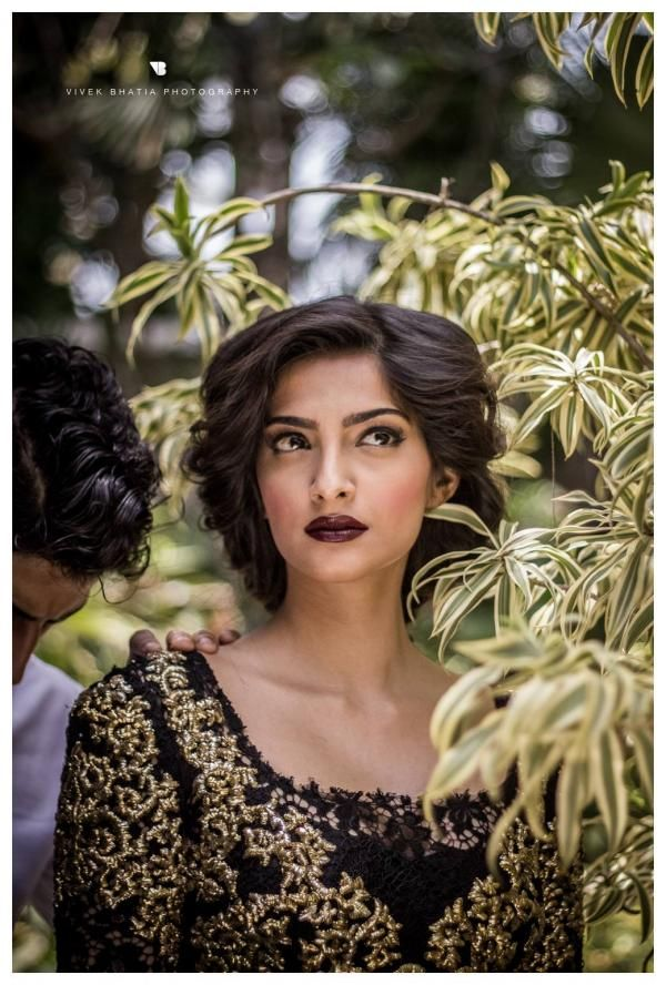 Sonam Kapoor's Filmfare shoot Behind the scenes. #Bollywood #Style #Fashion