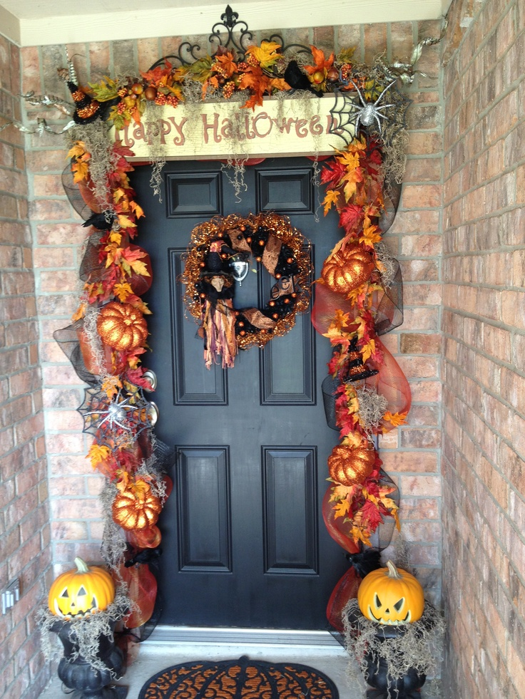 1000 Images About Halloween Wreaths On Pinterest