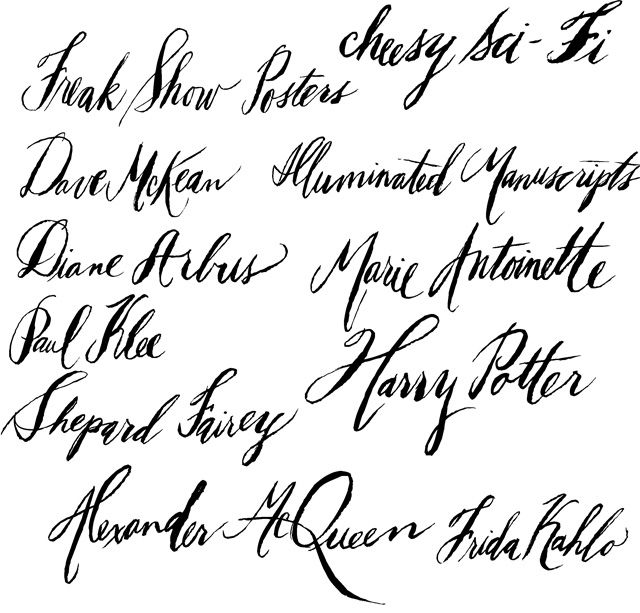Leah Lucci shares her experience with the istilllovecalligraphy.com course. I love her raw style!