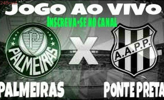 ASSISTIR PALMEIRAS X PONTE PRETA AO VIVO - PAULISTÃO 2017 22/04/2017