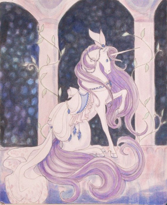 Pretty Unicorn, themed after the mlp Rarity