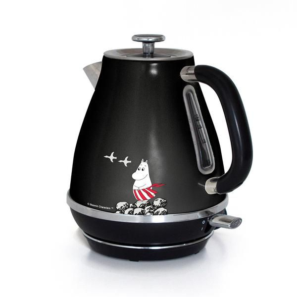 Moominmamma kettle 1,7 l black – The Official Moomin Shop