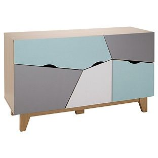 Buy HOME Multicoloured Sideboard at Argos.co.uk - Your Online Shop for Sideboards and chest of drawers.