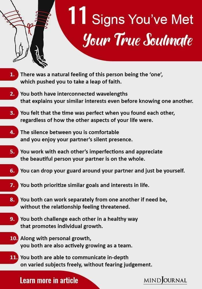 How to know you have met your soulmate