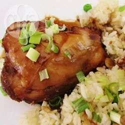 Barbecued Honey Garlic Chicken @ allrecipes.com.au