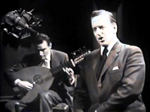 Peter Pears & Julian Bream perform Dowland and Rosseter!