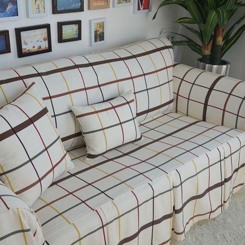 Американский стиль страна белый розовый большой плед декоративные диван крышка Loveseat стул Funiture крышка дважды хместный диван домашний текстиль