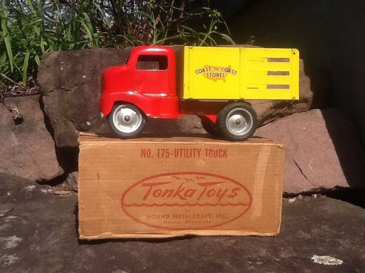 Toys For Trucks Everett : Best vintage toy trucks images on pinterest