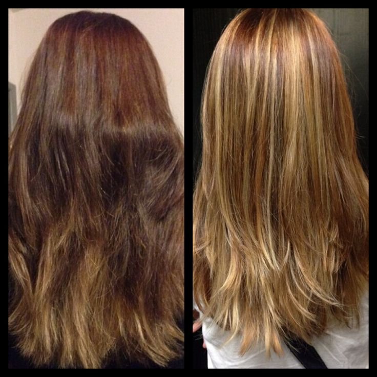 Before Amp After Balayage Highlights Blonde My Work