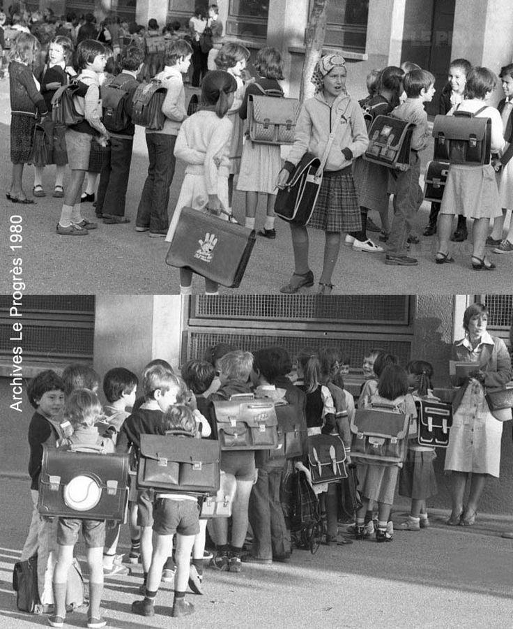 Les fournitures scolaires des années 70-80