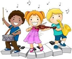 these children are happy because they can make music