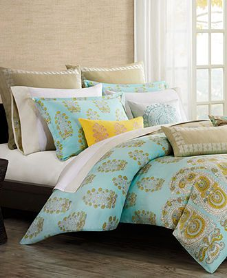Echo Bedding, Paros Comforter and Duvet Cover Sets - Bedding Collections - Bed & Bath - Macy's