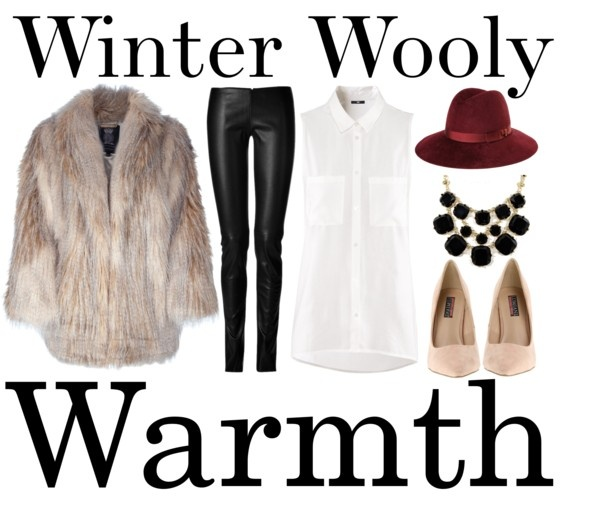 """Winter Wooly Warmth"" by michelleanned on Polyvore"