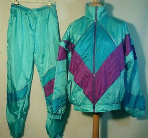 Shell Suit...the material made swishing noises when you moved, lol!