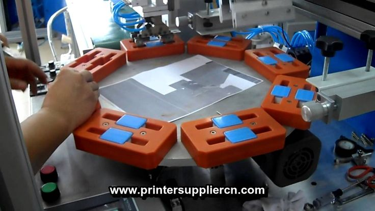 Automatic Rotary Screen Printing Machine, Auto Rotation Silk Screen Printer