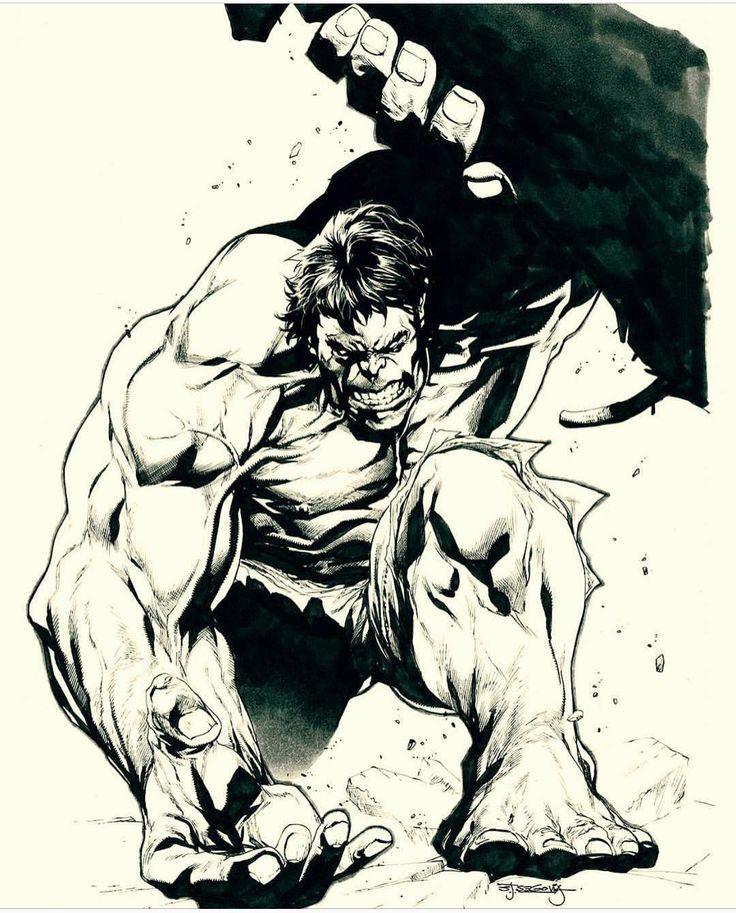 1,177 отметок «Нравится», 4 комментариев — Rogue Comic PROS (@rogue_comic_pros) в Instagram: «Artist: Stephen Segovia #hulk#avengers»