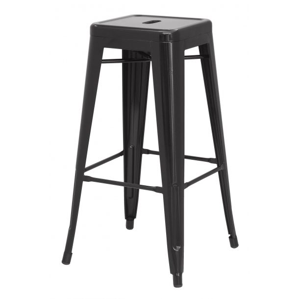 Unique Metal Backless Bar Stools