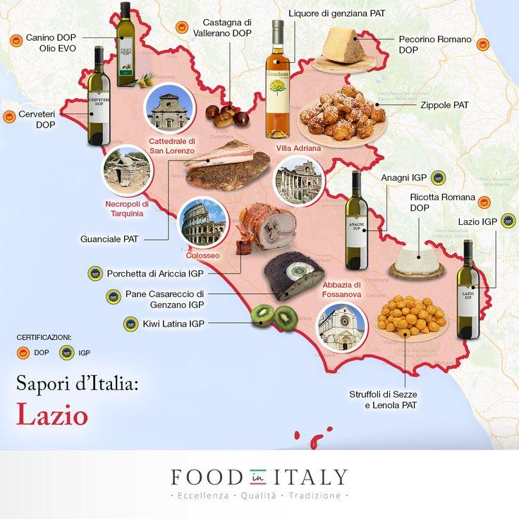 Il #Lazio? Una regione d'Italia davvero unica: tra i suoi sapori eccellenti, il mare meraviglioso e i paesaggi decorati dalla più gloriosa storia italica potrete assaporare il meglio della tradizione genuina.