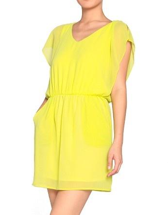 Layered Yellow Dress