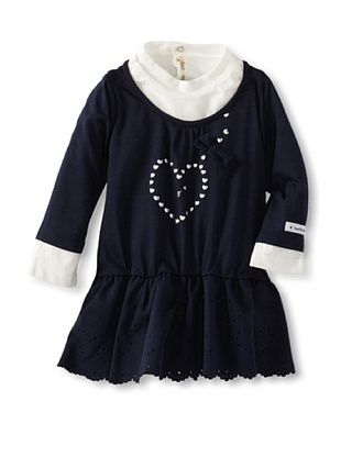 59% OFF Berlingot Baby Girl Dress (Navy)
