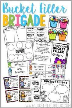 Create a classroom climate of Bucket Fillers with this resource packet chock full of goodies!  Create a whole class Anchor Chart to keep in display all year.  Set up a Bucket Fillers Bulletin Board. Help your students truly grasp what Bucket Filling and bucket dipping ARE, then watch your classroom environment TRANSFORM!